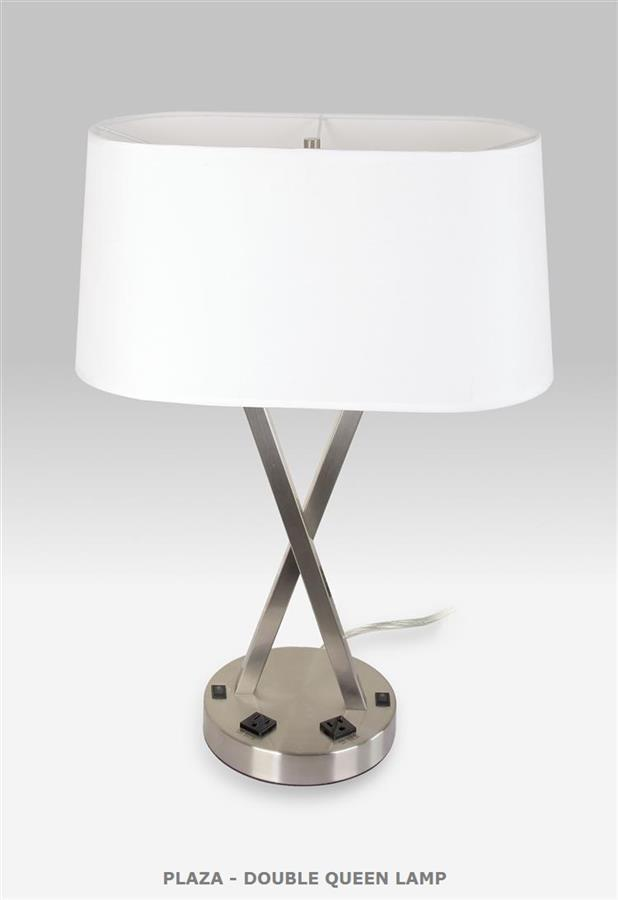 PLAZA - DBL QUEEN LAMP